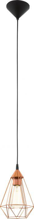 Riippuvalaisin Eglo Tarbes Kupari 60 W