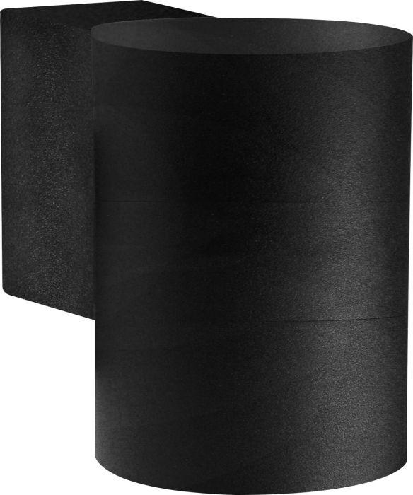 Ulkoseinävalaisin Nordlux Tin Maxi 1-osainen Musta