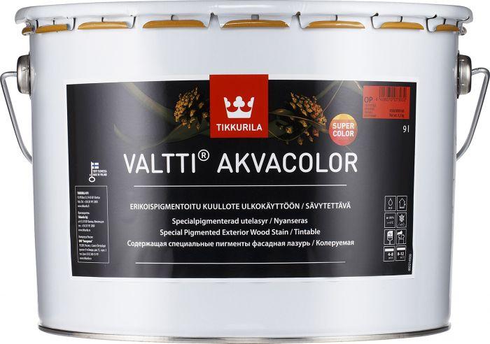 Kuullote Tikkurila Valtti Akvacolor Supercolor OP