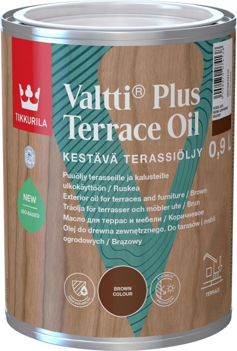 Valtti Plus Terrace Oil Tikkurila Ruskea