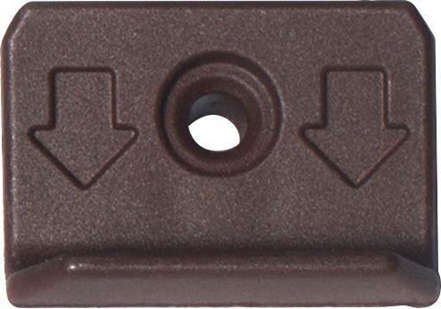 Piilokiinnike Lunacomp Ruskea 250 kpl