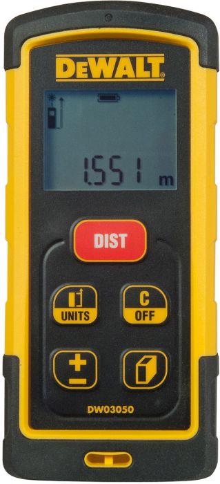 Laseretäisyysmittari Dewalt DW03050