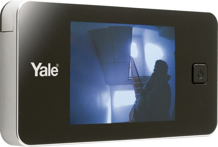 Digitaalinen Ovisilmä Yale Doorman Hopea