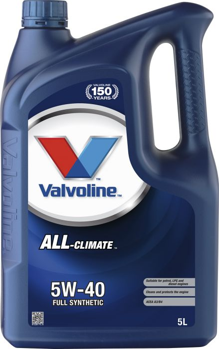 Moottoriöljy Valvoline All Climate 5W-40 5 l