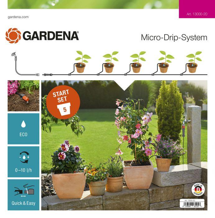 Kastelusarja Gardena Micro-Drip S ruukuille