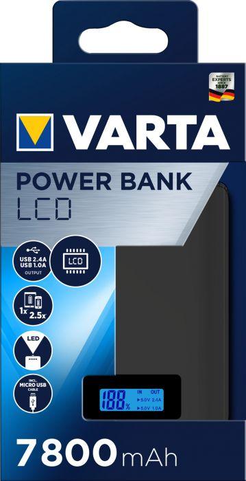 Power bank Varta LCD 7800 mAh