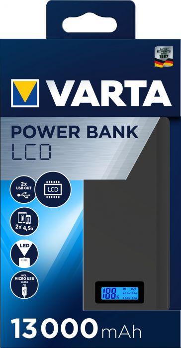 Power bank Varta LCD 13000 mAh