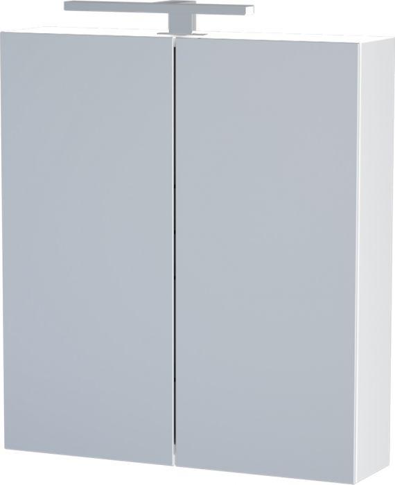 Peilikaappi Camargue Nord LED valkoinen 60 cm