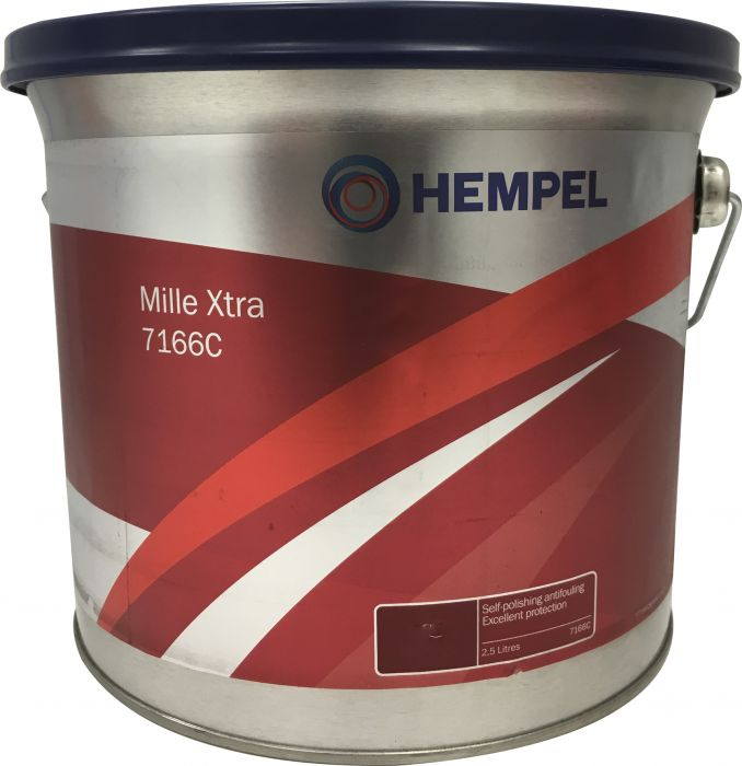 Antifouling-maali Hempel Mille Xtra 7166C Grey 2,5 l