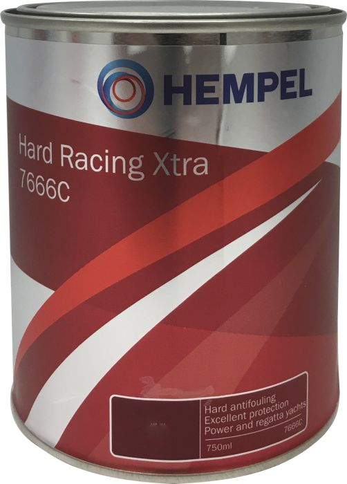 Kova Antifouling-maali Hempel Hard Racing Xtra 7666C Grey 0,75 l