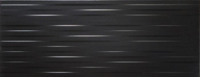 Seinälaatta Nastri Antrasiitti 20 x 50 cm