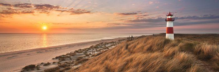 Sisustustaulu Reinders Lighthouse Sunset