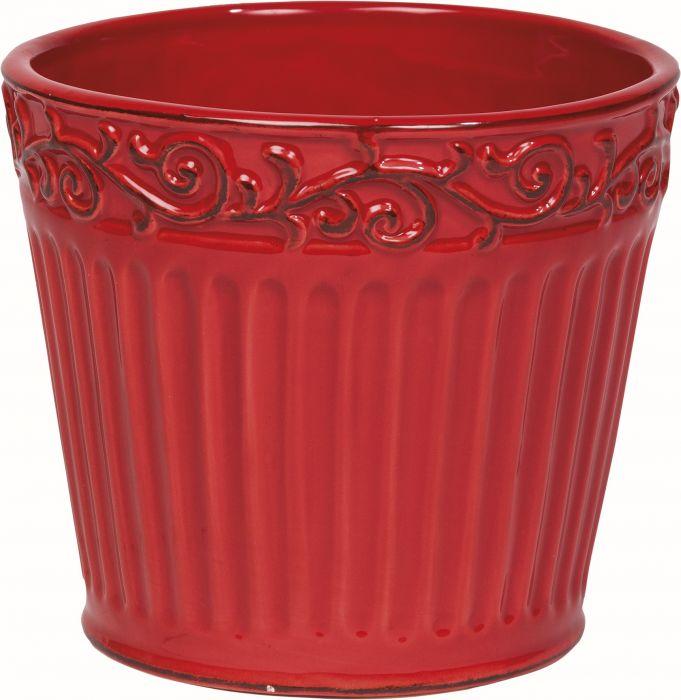 Ruukku punainen 12,8 x 11,1 cm