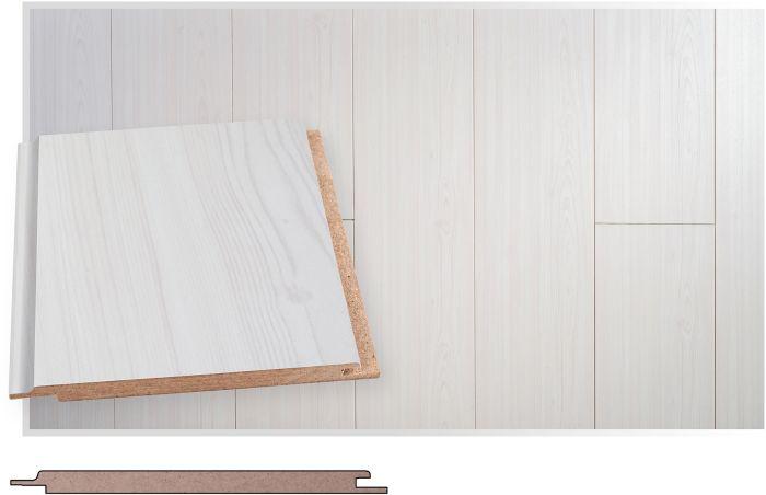 Kattopaneeli Maler MDF Smart Valkolakattu STP 8 x 120 x 2070 mm