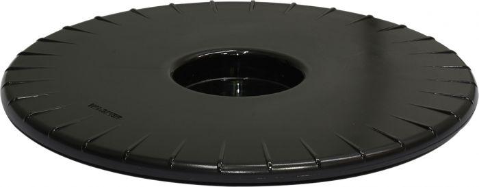 Ruukunalunen Ultraflat 30 cm/100 kg musta