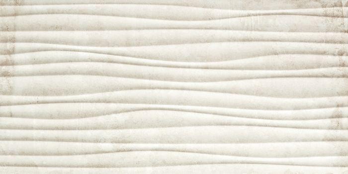 Seinälaatta Gaia 30 x 60 cm Kohokuviolla Beige