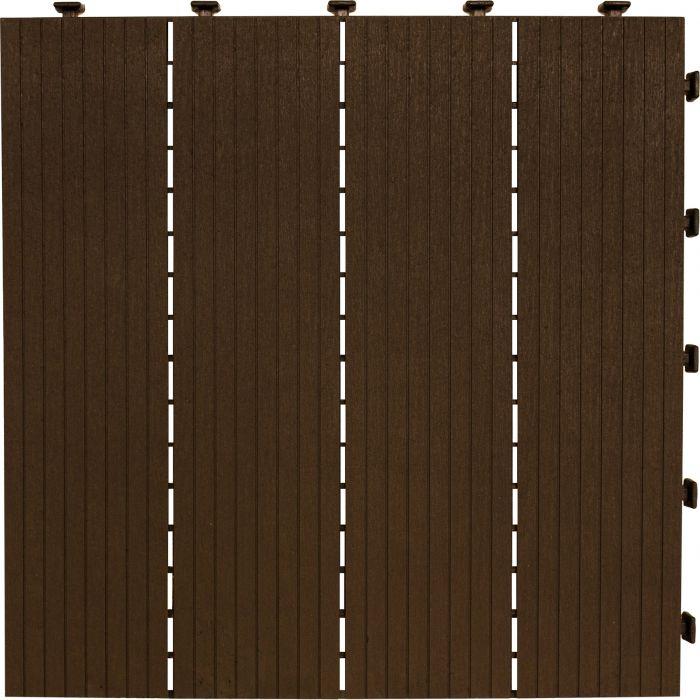 Modulaarilaatta Cosmopolitan 30 x 30 cm 6 kpl ruskea