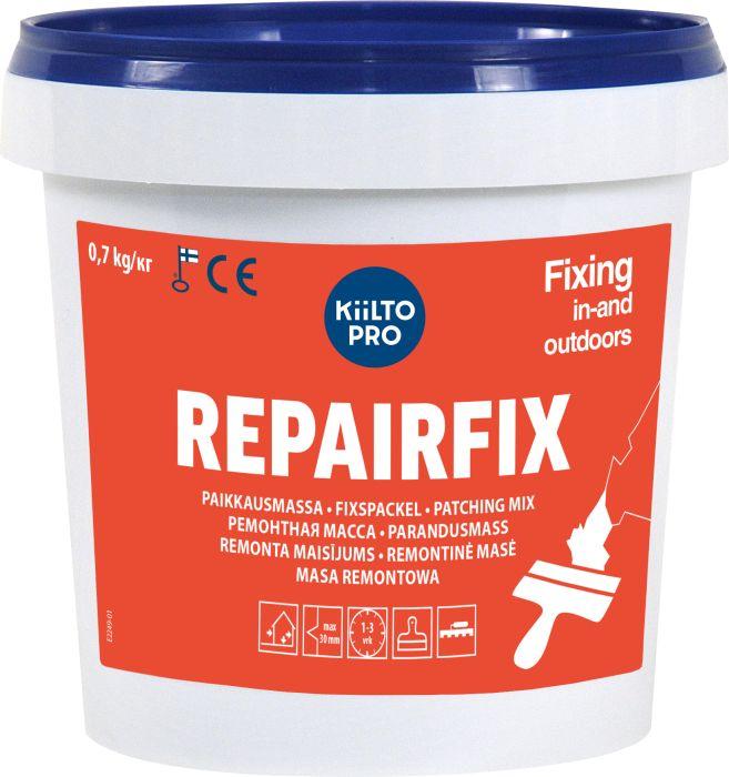 Paikkausmassa Kiilto Pro Repairfix 0,7 kg