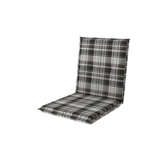 Istuinpehmuste Doppler Comfort 100 x 50 x 7 cm musta-harmaa