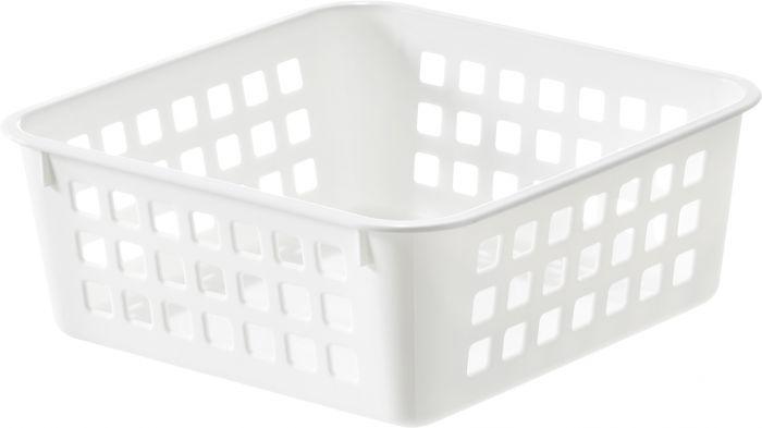 Säilytyskori SmartStore Basket Recycled 1 Valkoinen 16 x 16 x 7 cm