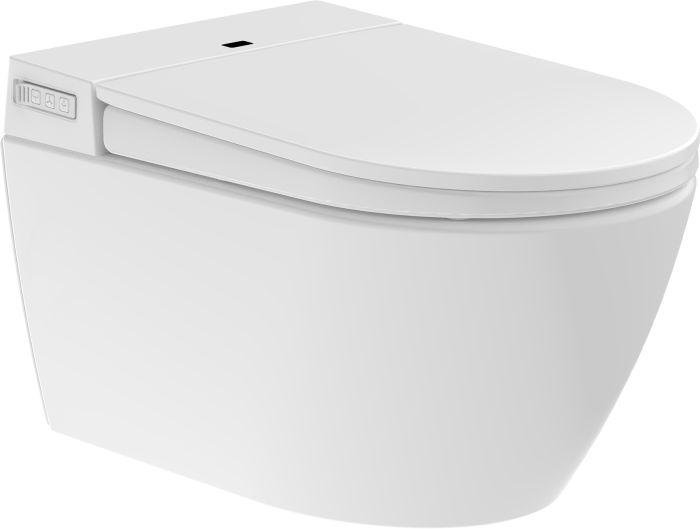 Elektroninen Seinä-WC-istuin Camargue Clean & Dry