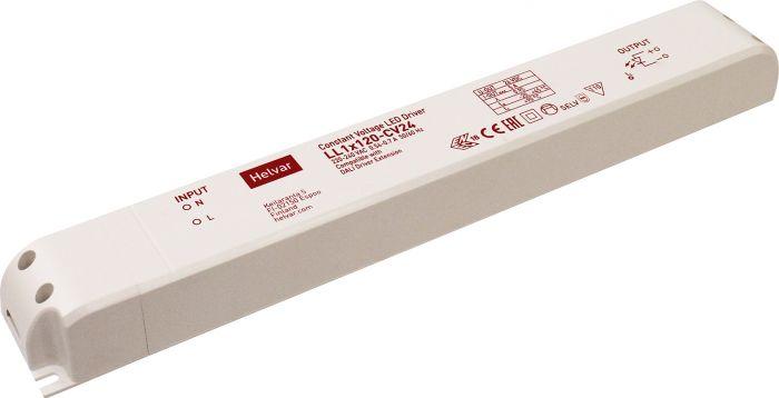 LED-tasajännitelähde Cariitti 120 W/24 V