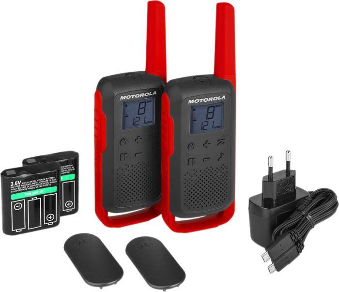 Radiopuhelinpari Motorola Talkabout T62 Punainen