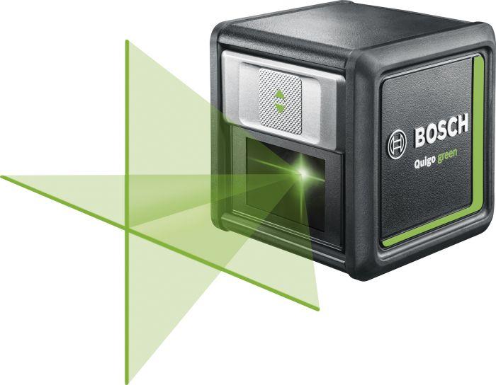 Ristilinjalaser Bosch Quigo Green