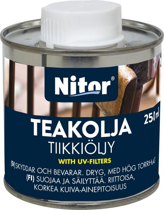 Tiikkiöljy Nitor