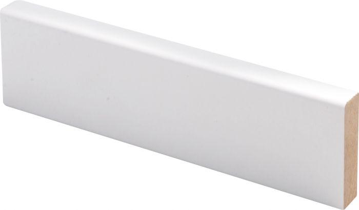 Peitelista Maler 12 x 42 x 2750 mm MDF Valkoinen