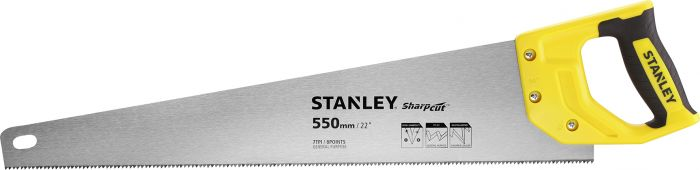 Käsisaha Stanley SharpCut 550 mm 11 TPI