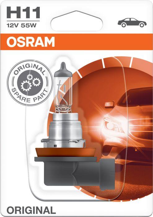 Polttimo Osram Original H11 1 kpl