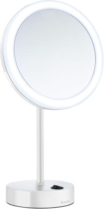 Meikkipeili Smedbo Outline valkoinen 5x