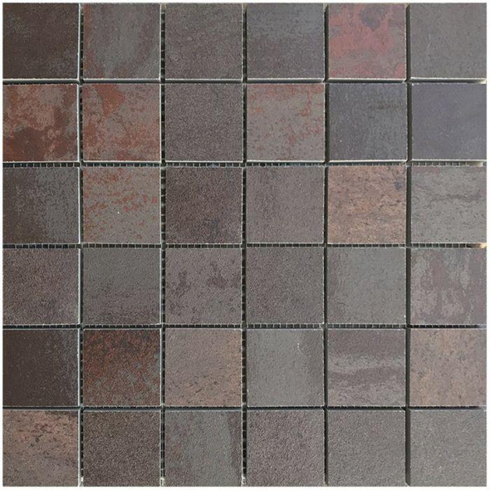 Mosaiikkilaatta Oxyd Punainen 30 x 30 cm