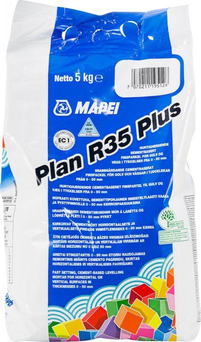 Viimeistelytasoite Mapei Plan R35 Plus 5 kg