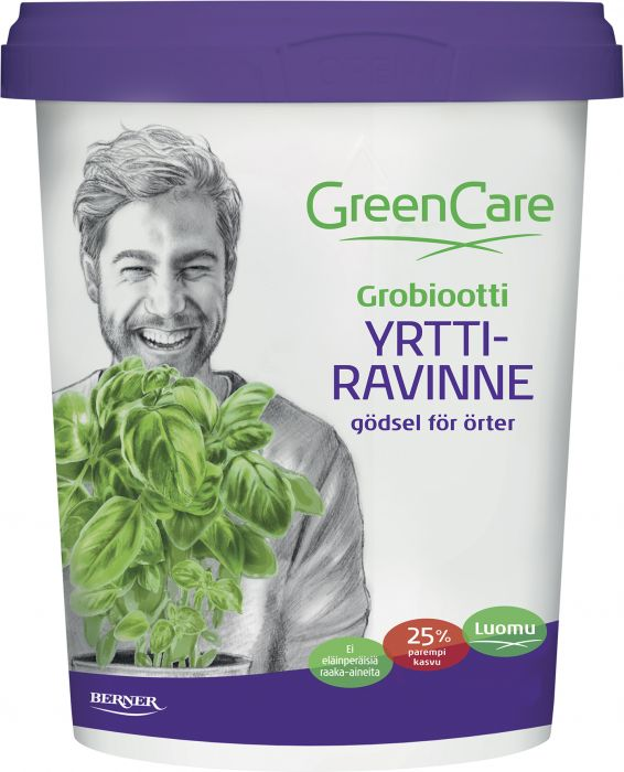 Yrttiravinne Greencare 0,5 l