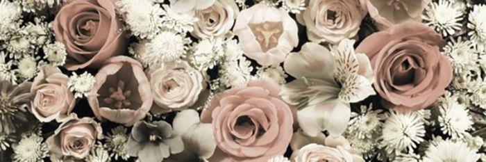 Sisustustaulu Reinders Flower Bouquet 30x90 cm