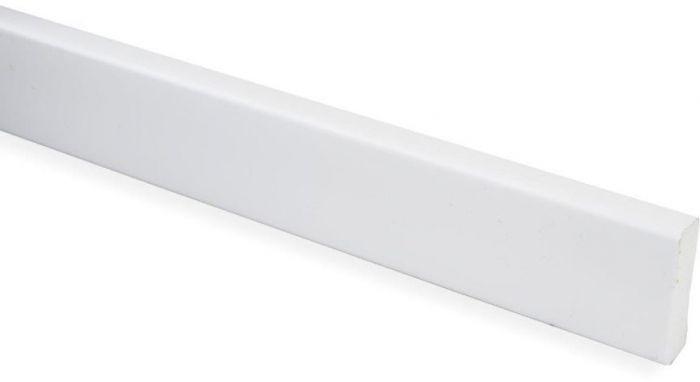 Peitelista Maler PVC Valkoinen 5 x 20 x 2700 mm