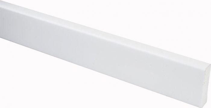 Peitelista Maler PVC Valkoinen 10 x 32 x 2200 mm