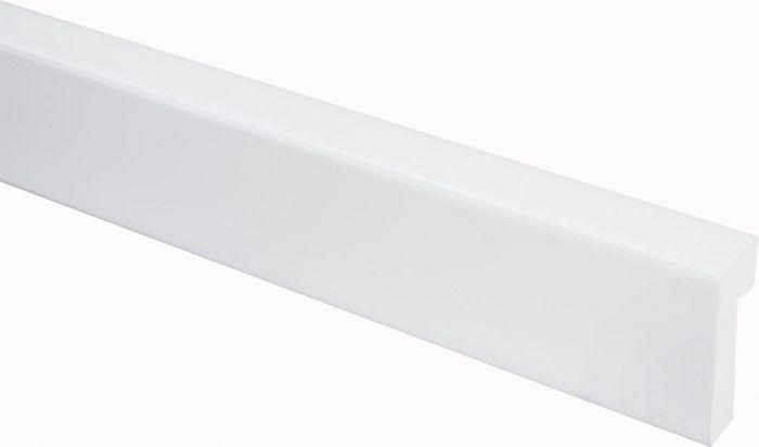 Reunalista Maler PVC Valkoinen 17 x 42 /7 x 2200 mm