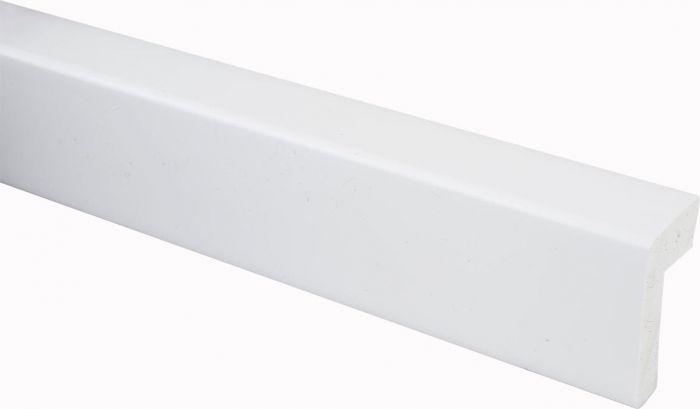 Reunalista Maler PVC Valkoinen 25 x 42 /15 x 2200