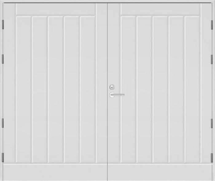 Autotallin ovi Kaskipuu Valkoinen UO1AO 25 x 21