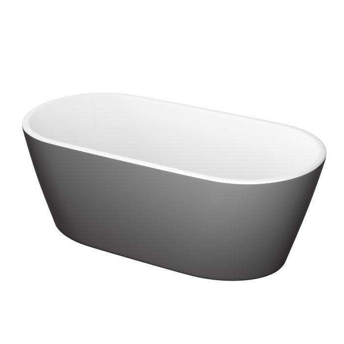 Kylpyamme Camargue Visby Valkoinen/harmaa