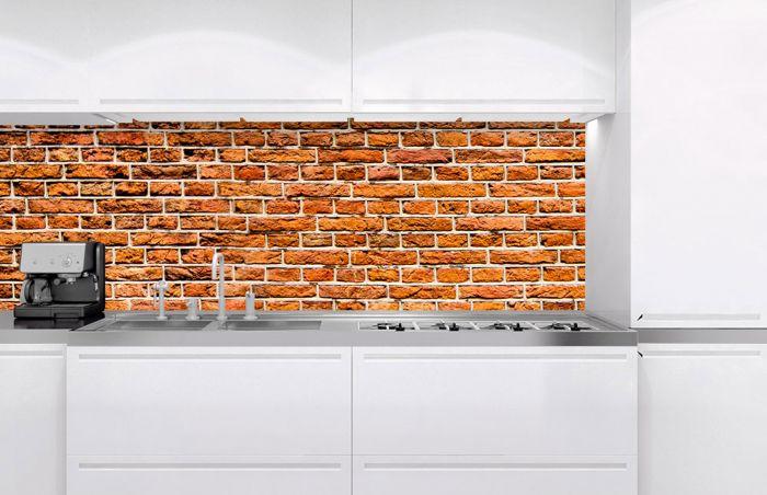 Välitilatarra Old Brick 180 x 60 cm