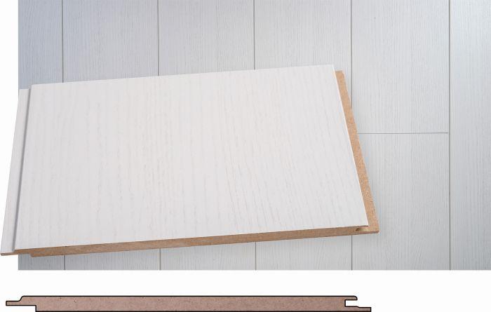 Sisustuspaneeli Maler MDF Smart Hopeasaarni 8 x 195 x 2070 mm