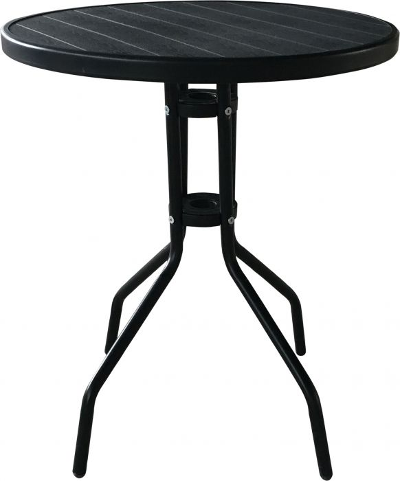 Parvekepöytä Minna 60 cm musta