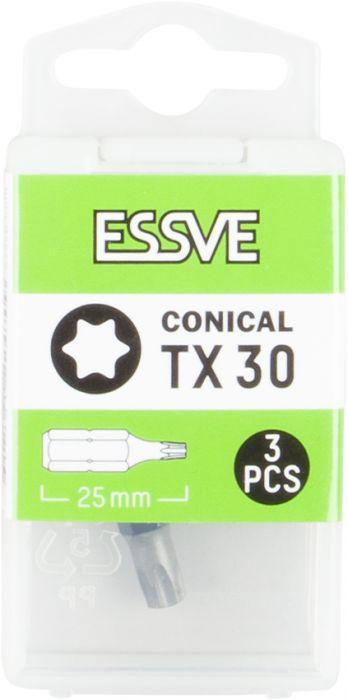 Kärki Essve TX30 25 mm 3 kpl