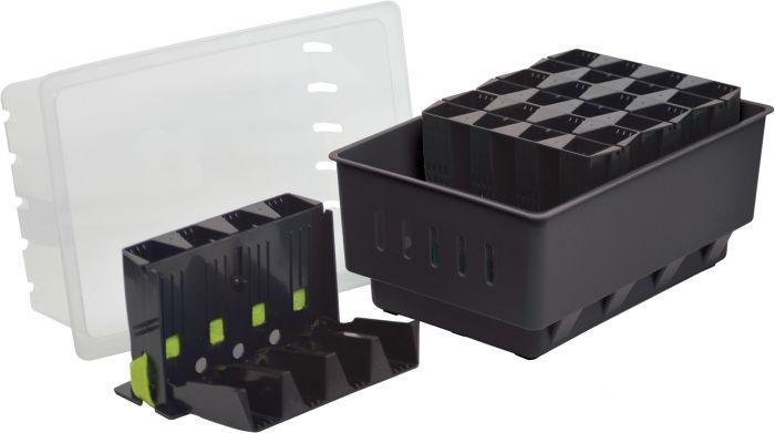 Minikasvihuone Rootmaster 19,5 x 29 x 21 cm
