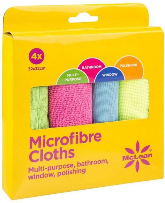 Mikrokuituliina McLean Multipack 4 kpl