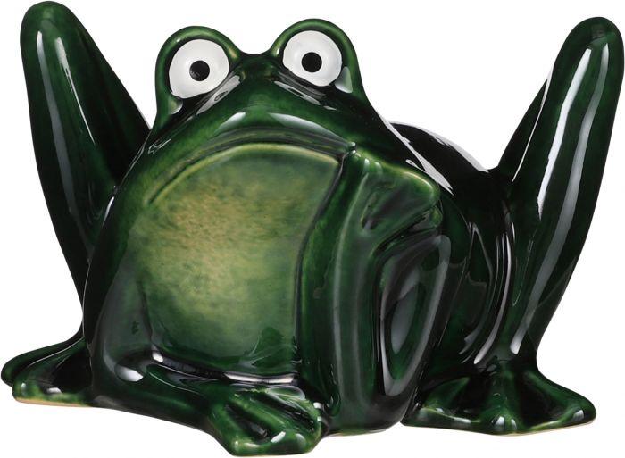 Puutarhakoriste sammakko 14 x 13 x 9 cm